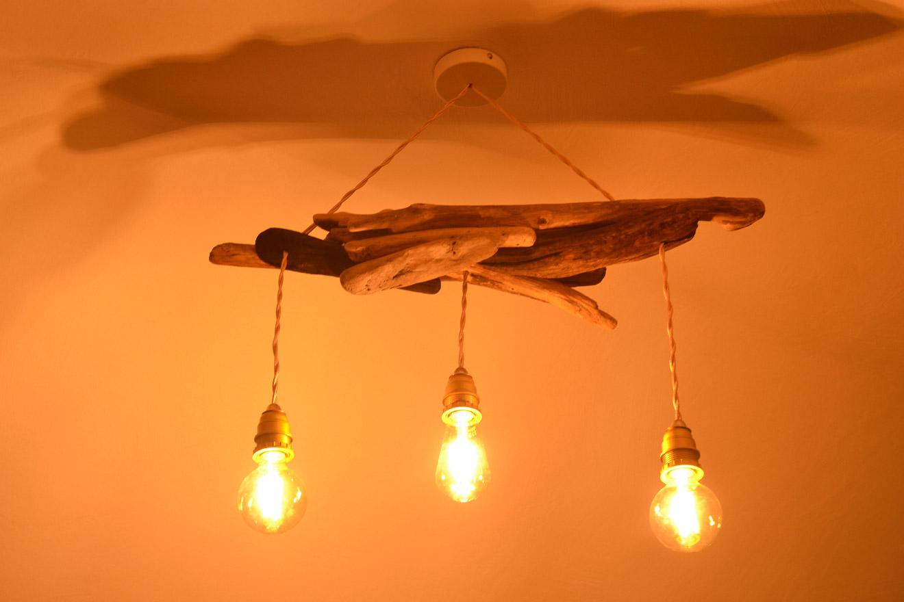 Pendelleuchte 3-flammig Betonlampe Esstischlampe Hängelampe Wohnzimmerlampe E27