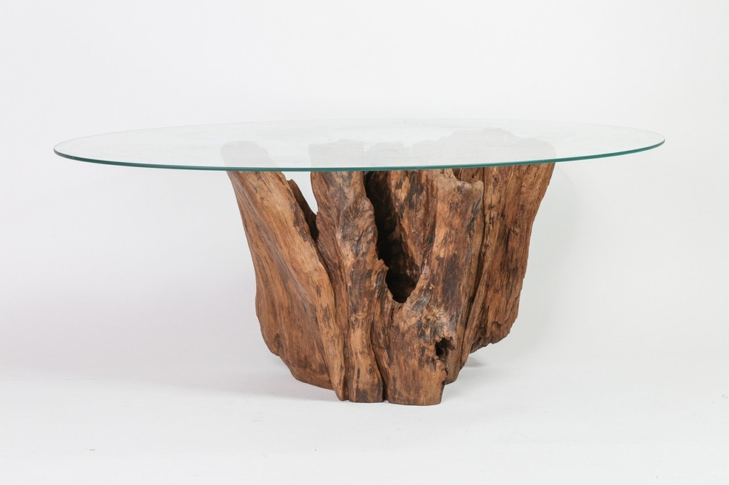 Tisch aus Treibholz